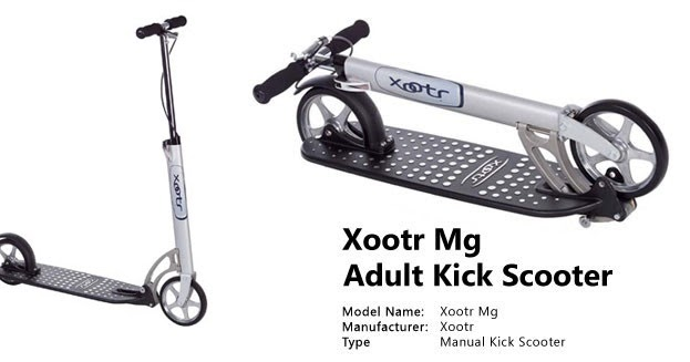 Vermin Scooter Shop: XOOTR MG COMMUTER SCOOTER