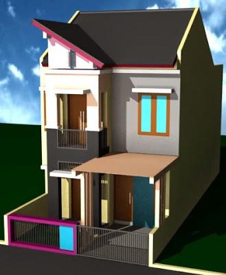 Gambar Desain Rumah Minimalis Modern Sederhana Type 36