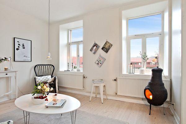 Không gian thiết kế căn hộ 39m2 trắng tinh khôi - Ảnh 5