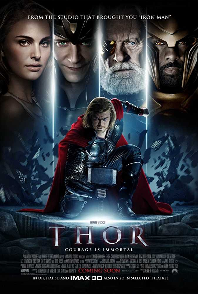 Poster Thor 2011 Dual Audio HD 720p