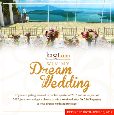 Say I Do To Your Dream Wedding For Free As Kasal Launches The Gest Promo 2016 If You Are Getting Married On Any Dates Of Last