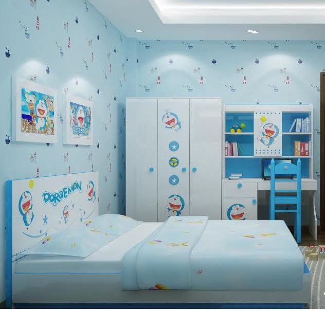 Thiết kế phòng ngủ Doremon 08
