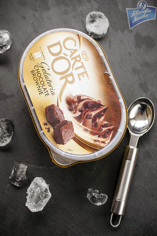 Lody carte d'or brownie
