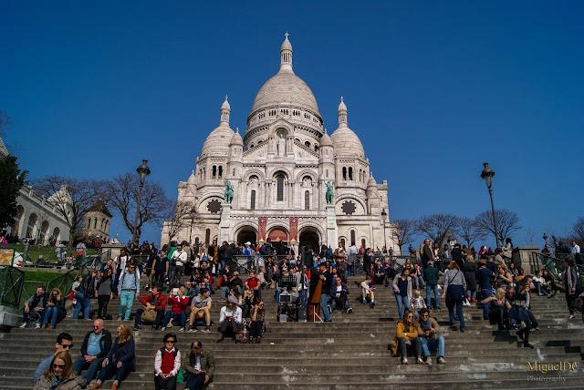 Basílica del Sagrado Corazón en Paris