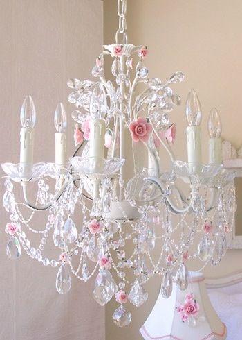 quarto romântico lustres