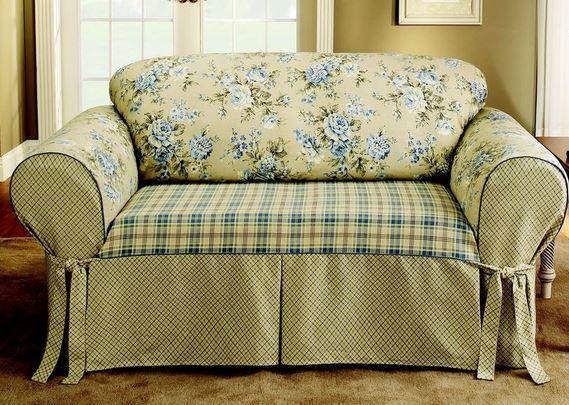 Como hacer los forros para tus muebles - Como hacer un sillon paso a paso ...