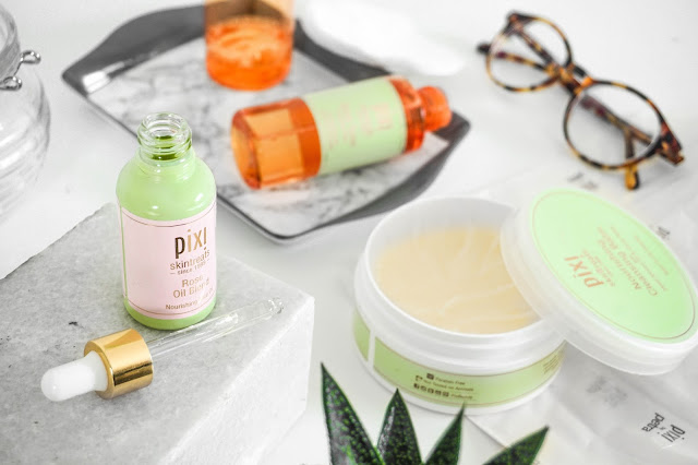 Pixi Skincare Staples Glow Tonic Cleansing Balm  Rose Oil Blend Pixi By Petra Review