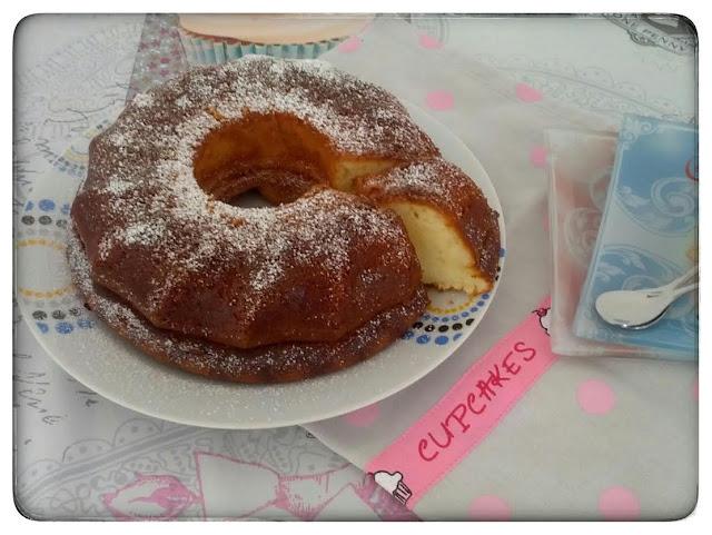 ♥ Cake Moelleux Citron Mascarpone ♥