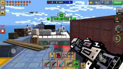 shooting game menembak terbaik android pixel gun 3d