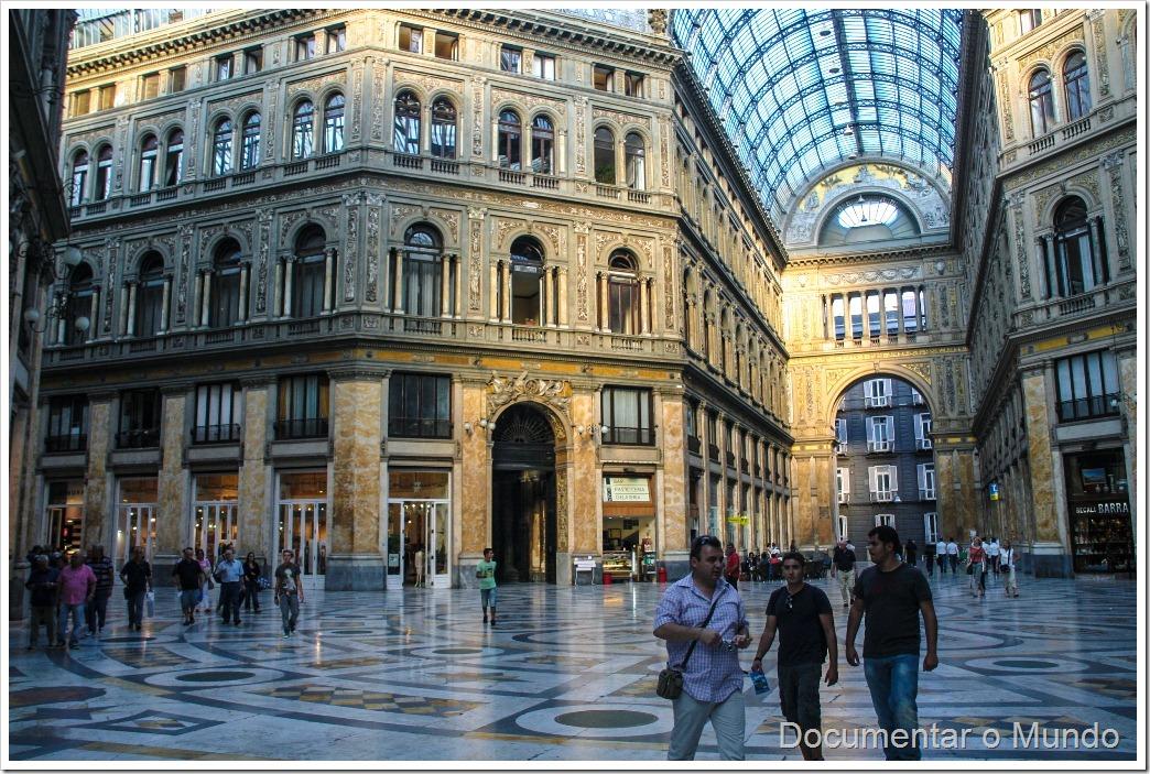 Galerias Umberto I, Nápoles, Itália