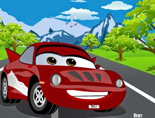 لعبة السيارة الحمراء يارد