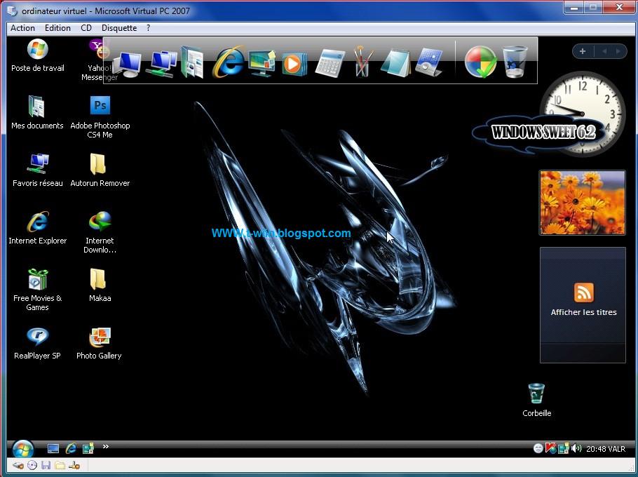 GRATUIT 01NET TÉLÉCHARGER WINDOWS SUR SWEET XP