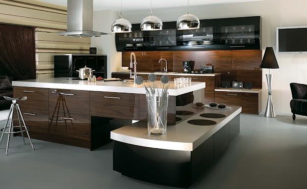 Desain Dapur Modern Mewah dan Elegant 01