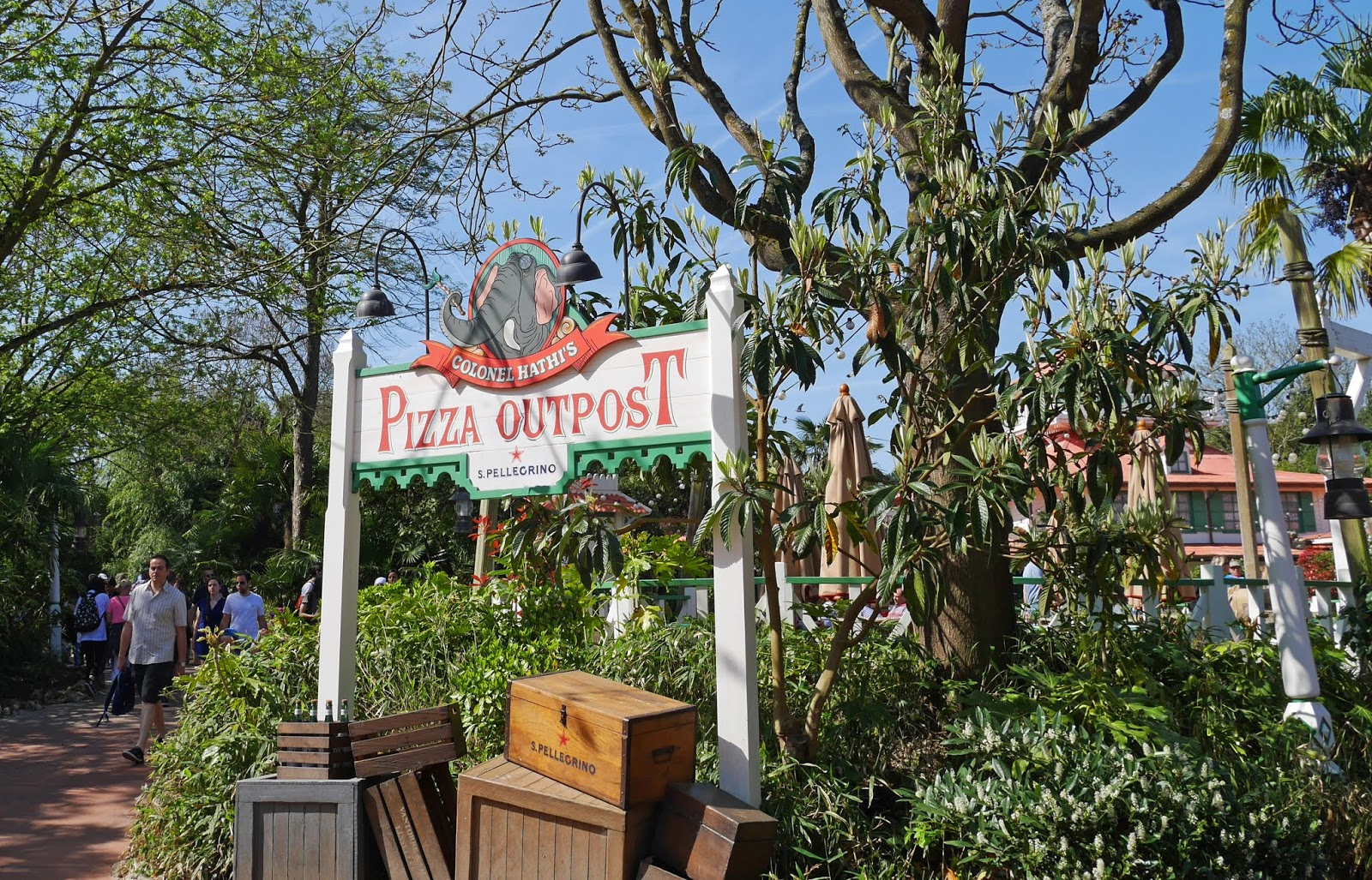 Colonel Hathi's Pizza Outpost at Disneyland Paris