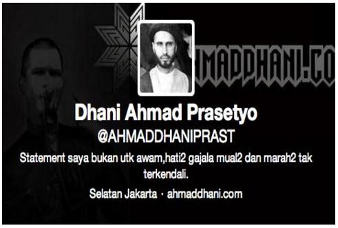 """Astaghfirullah!! Ahmad Dhani Mengeluarkan Kicauan Kontroversi di Twiternya : """"Nabi Adam AS Lahir dari Rahim Seorang Wanita"""""""
