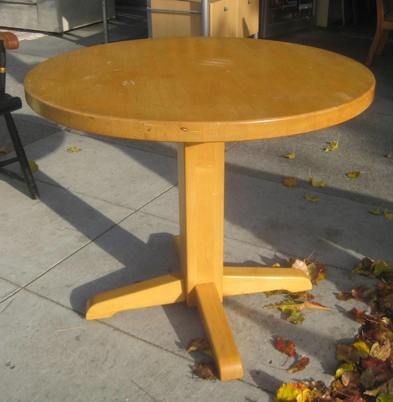Rimworld Butcher Table In Kitchen : UHURU FURNITURE & COLLECTIBLES: SOLD - Butcher Block Kitchen Table - $40