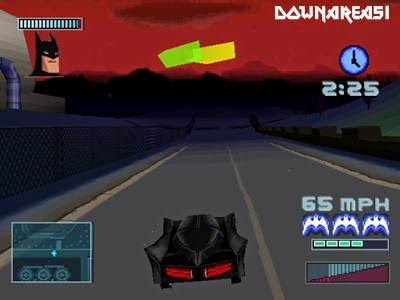 Batman Gotham City Racer Gameplay Screenshot Batman Gotham City Racer PS1 ISO