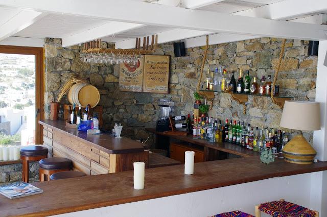 Tharroe of Mykonos Bar