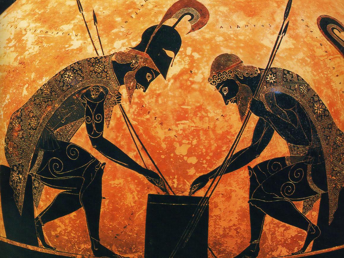 Επιτραπέζια παιγνίδια στην αρχαία Ελλάδα
