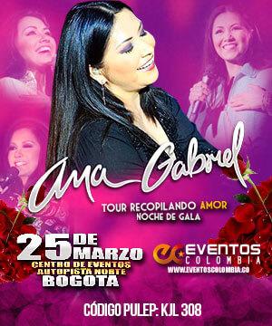 Ana Gabriel en Bogota 2017