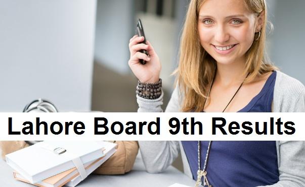 Lahore Board 9th Class Result 2019 - BiseLahore.com