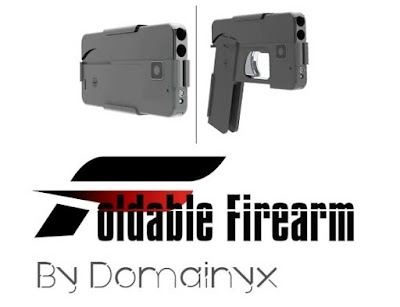Foldable technology arrived in firearms