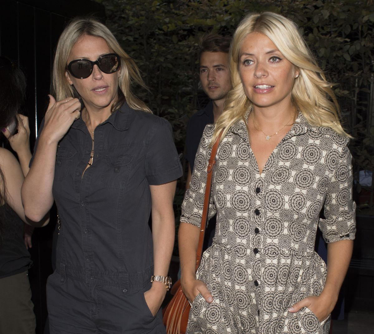 Photos of Holly Willoughby and Nicole Appleton at Chiltern Firehouse in London