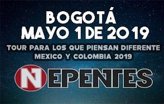 Concierto de NEPENTES en Bogotá, Colombia