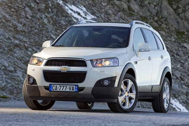 Exterior All New Chevrolet Captiva