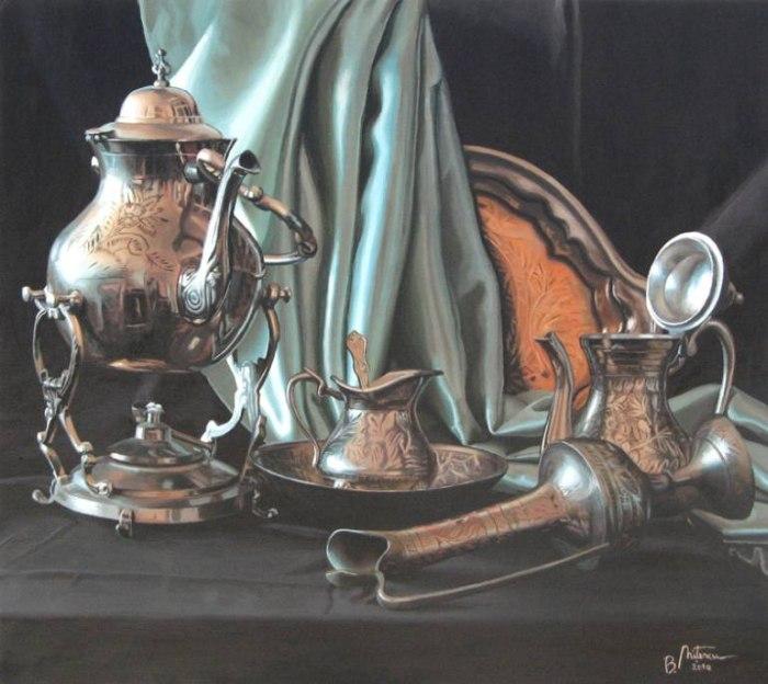 Фигуративные работы. Bogdan Nitescu