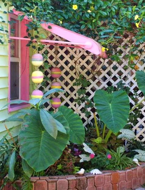 Garden Buoy Decor