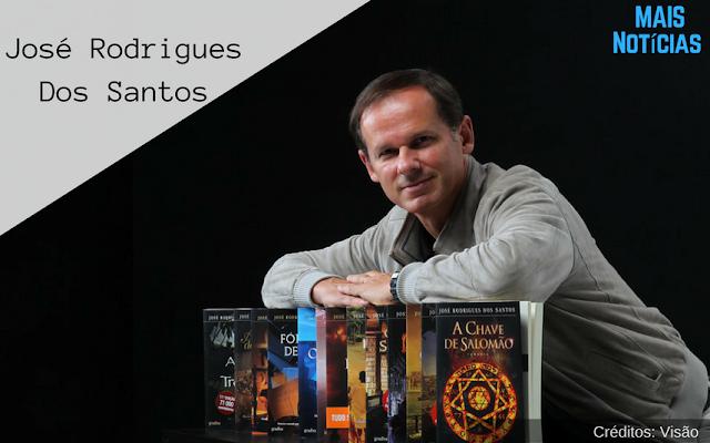 """José Rodrigues dos Santos: """"A minha vida é escrever romances"""""""