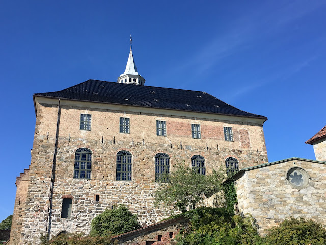Akershus castle and fortress oslo Norway