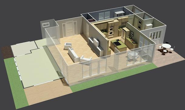 Planos de casas modelos y dise os de casas diciembre 2012 for Casa 3d gratis