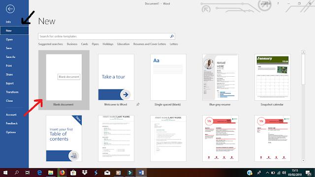 Trik Cepat Membuat, Menyimpan dan Menghapus Dokumen pada Microsoft Office Word