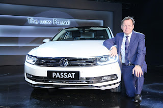 Volkswagen Redefines Luxury with the launch of the  all New Passat at an introductory price of INR 29.99 Lakhs