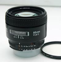 Jual Lensa Nikon 85mm F1.8 AFD Bekas