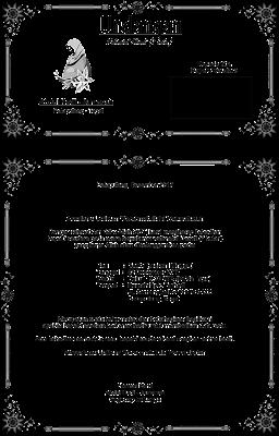 undangan walimahan