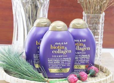 dau goi chi thick & full biotin collagen ogx