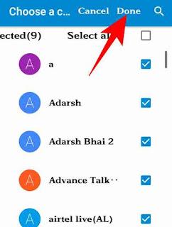Contact no. Google drive me save kaise rakhe 4