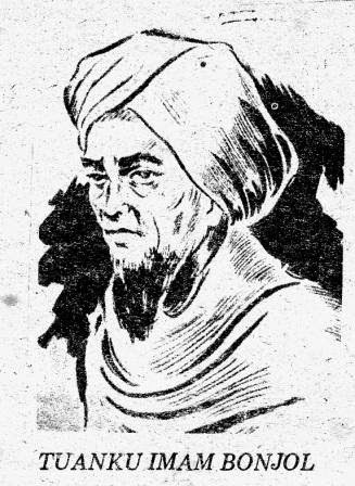 Sejarah Perang Paderi (Padri 1821-1837) dan Latar Belakang Perang Padri serta Penyebab terjadinya perang padri  tuanku imam bonjol