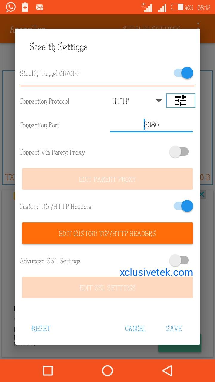 ETISALAT FREE BROWSING CHEAT USING ANONYTUN VPN | Gurusplaza
