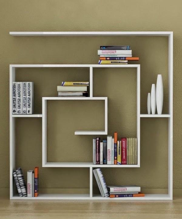 Modern Shelves Design: Top 10 Wooden Bookshelves Designs For Modern Interior