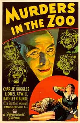 Murders in the Zoo (El Asesino Diabólico) una película dirigida por A. Edward Sutherland