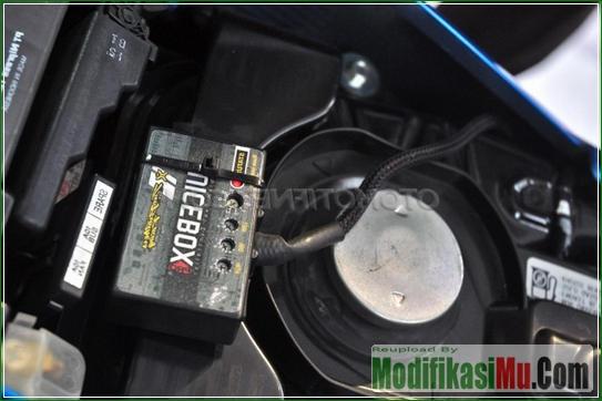 Piggyback Untuk Atur Pasokan Bensin - Video Cara Modifikasi Suzuki Satria F150 Injeksi Turbo Dengan Turbocharger Motor