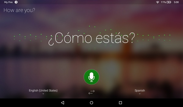 Microsoft Translator app now available for Amazon Fire tablets