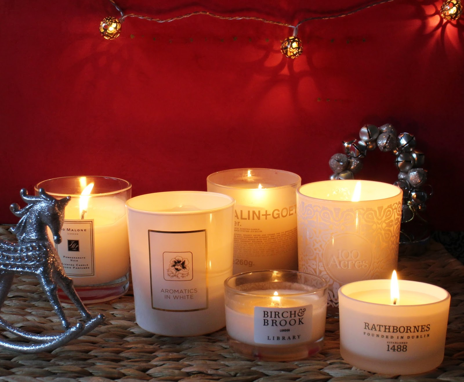 The Best Winter Candles Strawberry Blonde