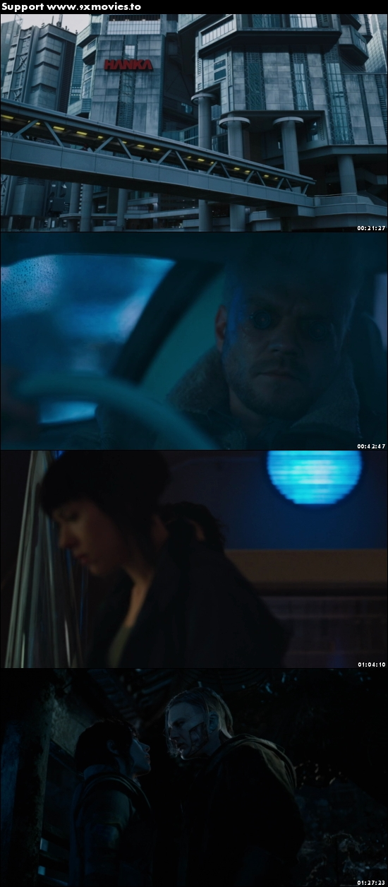 Ghost in the Shell 2017 English 480p BRRip 300MB ESubs