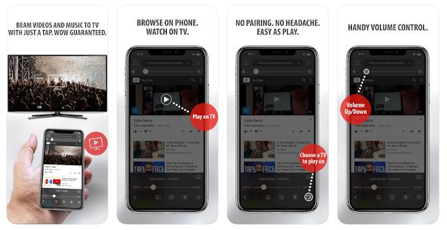 Truyền video web từ các mạng xã hội lên TV qua Tubio
