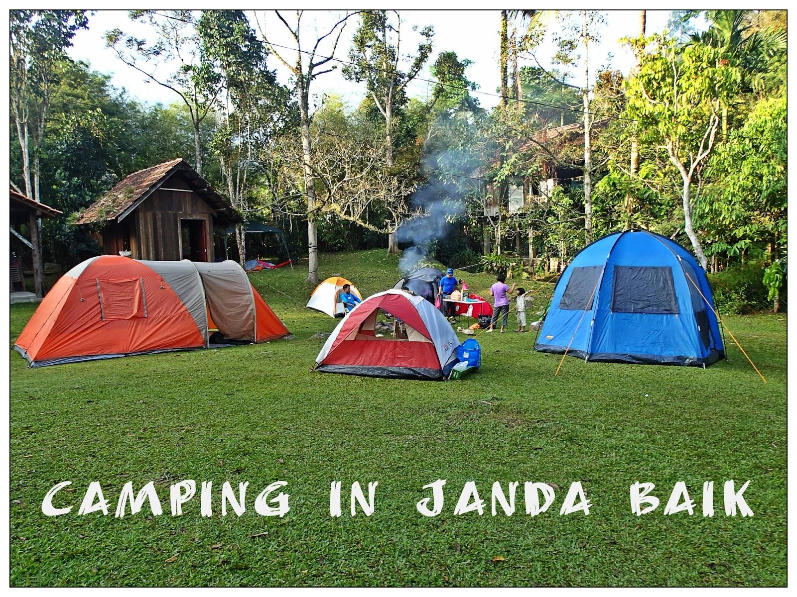 Camping In Janda Baik